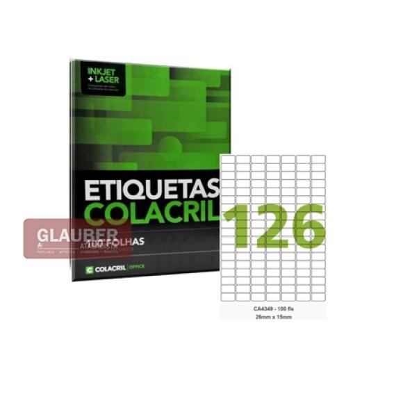 ETIQUETA ADESIVA 25 FOLHAS